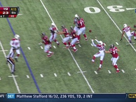 Cardinals defense, INT