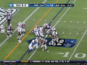 RB Vereen, 4-yd, run, TD