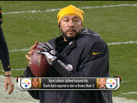 Video - Batch to become Pittsburgh Steelers' third QB in three weeks