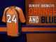 Watch: Evolution of the Broncos colors