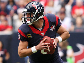 Video - Houston Texans quarterback Matt Schaub just wants to win