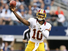 Video - Washington Redskins quarterback Robert Griffin III to Aldrick Robinson 68-yard TD