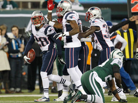 Video - New England Patriots safety Steve Gregory 32-yard fumble return TD