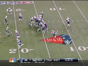 QB Brady to RB Vereen, 83-yd, pass, TD