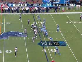 QB Stafford to WR Broyles, 37-yd, pass