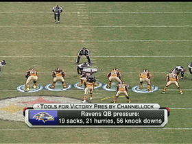 Watch: Tools for Victory: Ravens QB pressure