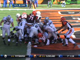 Video - Bengals RB BenJarvus Green-Ellis 1-yard touchdown run