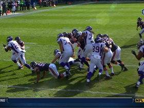 Video - Bears CB Charles Tillman recovers an Adrian Peterson fumble