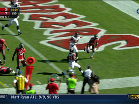 Video - Atlanta Falcons RB Jacquizz Rodgers 5-yard TD run