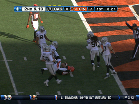 Video - Bengals QB Andy Dalton 27-yard completion