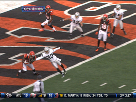 Video - Bengals WR Mohamed Sanu 5-yard touchdown catch
