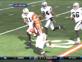 Video - Bengals running back Cedric Peerman 31-yard gain