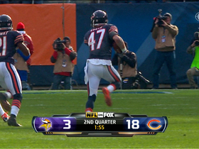 Video - Chris Conte picks off Ponder