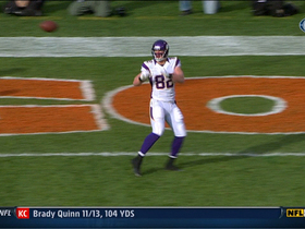 Video - Kyle Rudolph 2-yard touchdown reception