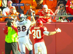 Video - Broncos quarterback Peyton Manning finds Demaryius Thomas for a 30-yard TD