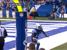 Video - Colts quarterback Andrew Luck finds T.Y. Hilton for an 8-yard touchdown catch