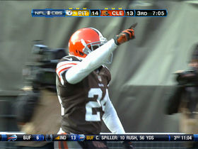 Video - Browns pick off Batch