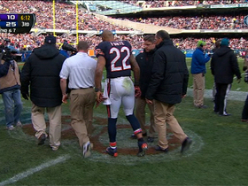 Video - Matt Forte injured on reversed defensive touchdown call