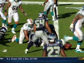 Video - Miami Dolphins running back Daniel Thomas 3-yard TD run