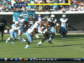 Video - Jacksonville Jaguars wide receiver Cecil Shorts 23-yard gain