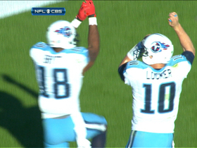 Video - Tennessee Titans wide receiver Kenny Britt 6-yard TD
