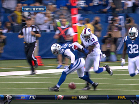 Video - Stevie Johnson forces Colts' fumble