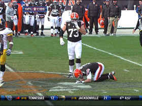 Video - Cleveland Browns quarterback Brandon Weeden injured