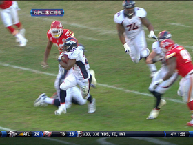 Video - Denver Broncos running back Knowshon Moreno 17-yard run