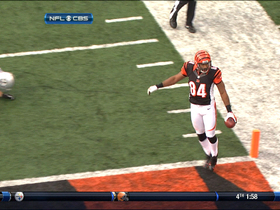 Video - Cincinnati Bengals tight end Jermaine Gresham skips in end zone, 7yd TD