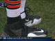 Watch: Jay Cutler ties Webb's shoe