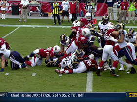 Video - Arizona Cardinals running back Beanie Wells 1-yard touchdown run