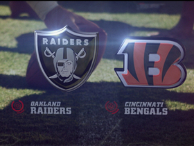 Video - Oakland Raiders vs. Cincinnati Bengals highlights