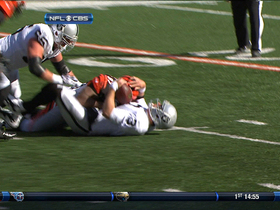 Video - Oakland Raiders quarterback Carson Palmer sacked up