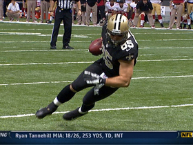Video - New Orleans Saints quarterback Drew Brees 6-yard TD