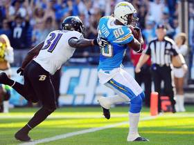 Video - San Diego Chargers wide receiver  Malcom Floyd 21-yard TD catch