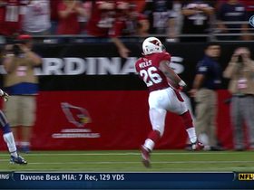 Video - Arizona Cardinals running back Beanie Wells 12-yard touchdown run