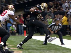 Video - New Orleans Saints wide receiver Marques Colston 10-yard TD