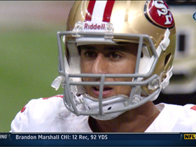 Video - San Francisco 49ers quarterback Colin Kaepernick INT