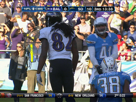 Video - Baltimore Ravens wide receiver Torrey Smith 54-yard catch-and-run