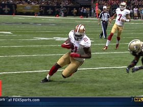 Video - San Francisco 49ers running back Frank Gore 6-yard TD catch