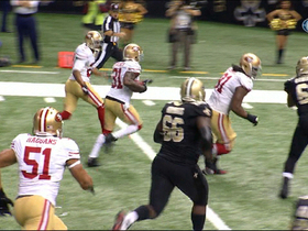 Video - New Orleans Saints quarterback Drew Brees throws second pick six