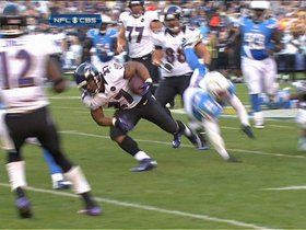 Video - Baltimore Ravens running back Ray Rice's 30-yard fourth-down conversion