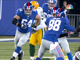 Video - New York Giants RB Ahmad Bradshaw 59-yard gain