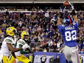 Video - Giants WR Rueben Randle 16-yard TD catch