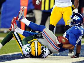 Video - New York Giants WR Victor Cruz 9-yard TD catch