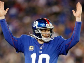Video - New York Giants QB Eli Manning's 200th touchdown pass