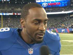 Video - New York Giants wide receiver Hakeem Nicks: 'We got our confidence back'