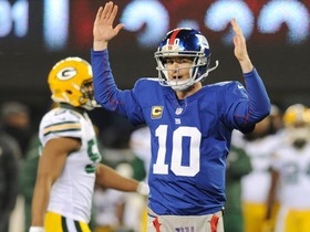 Video - Eli Manning's early groove carries Giants