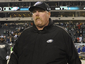 Video - Philadelphia Eagles head coach Andy Reid: 'I don't see this team tanking it'