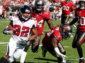 Should RB Jacquizz Rodgers start for the Falcons?